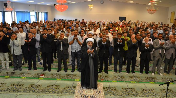 Al-Fitr bönen - Imam Ali Islamic Center - 2012