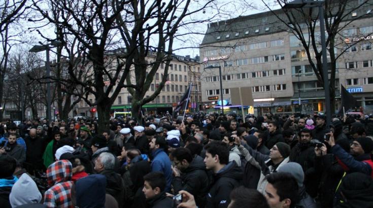 Ashura manifestation - Stockholm 2012